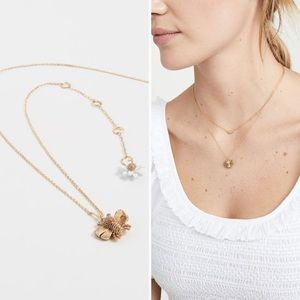 Kate Spade ♠️ NY all abuzz bee 🐝 pendant Necklace